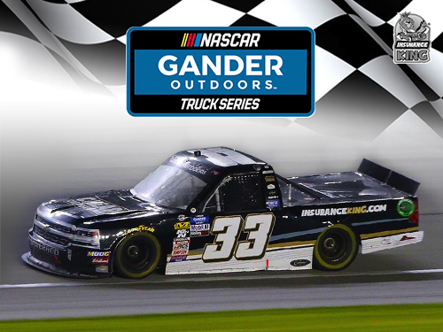 NASCAR Hero Card Gander Outdoor