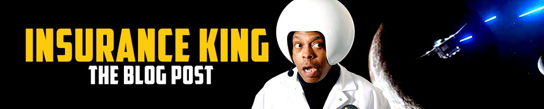 Insurance King hires Michael Winslow for Spaceballs spoof ads